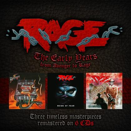 The Rage - Early Years (6 CDs)