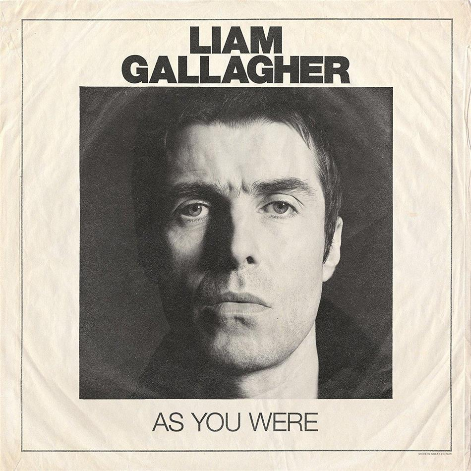 Liam Gallagher (Oasis/Beady Eye) - As You Were - 12 Tracks