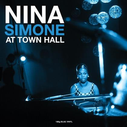 Nina Simone - At Town Hall - Not Now Edition, Blue Vinyl (Colored, LP)