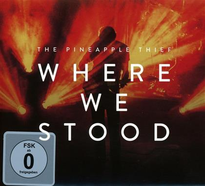 The Pineapple Thief - Where We Stood (CD + DVD)