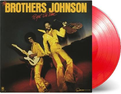Brothers Johnson - Right On Time (Music On Vinyl, Limited Edition, Strawberry Red Vinyl, LP)
