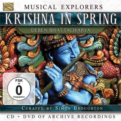 Deben Bhattacharya - Krishna In Spring (CD + DVD)
