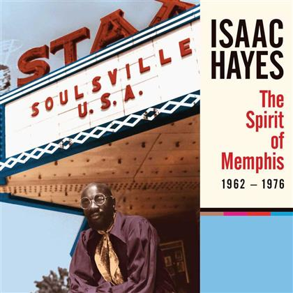 "Isaac Hayes - Spirit Of Memphis (1962-1976) (Limited Edition, 4 CDs + 7"" Single)"