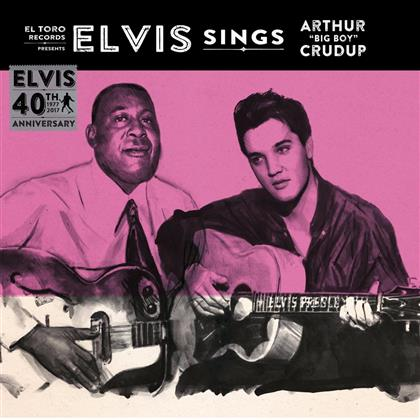 "Elvis Presley - Sings Arthur ''Big Boy'' Crudup (12"" Maxi)"