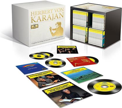 Herbert von Karajan - The Complete Recordings On DG & Decca (Limited Edition, 330 CDs + 24 DVDs + 2 Blu-rays)