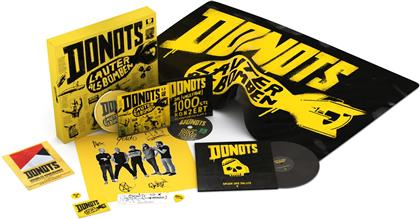 "Donots - Lauter Als Bomben - Limitierte Fan Box (CD + DVD + 7"" Single)"