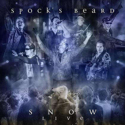 Spock's Beard - Snow - Live (Deluxe Edition, 2 CDs + 2 DVDs + 2 Blu-rays)