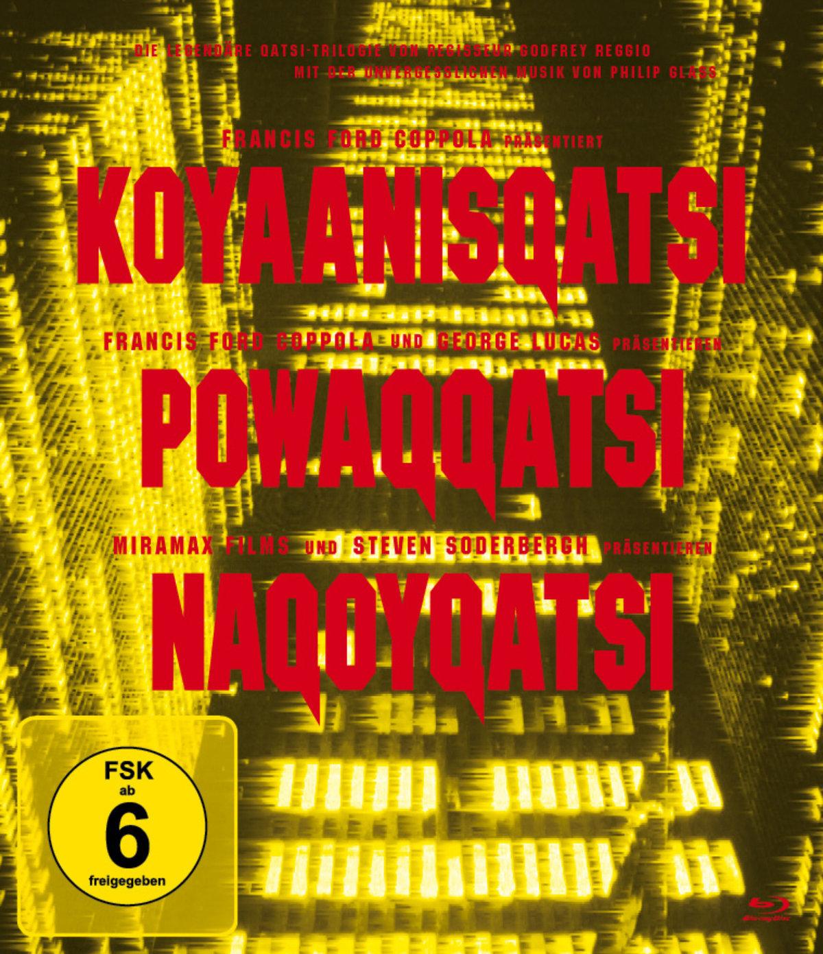 Koyaanisquatsi / Powaqqatsi / Naqoyqatsi - Die Qatsi-Trilogie (3 Blu-rays)