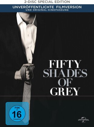 Fifty Shades of Grey (2015) (Digibook, Edizione Limitata, 2 DVD)
