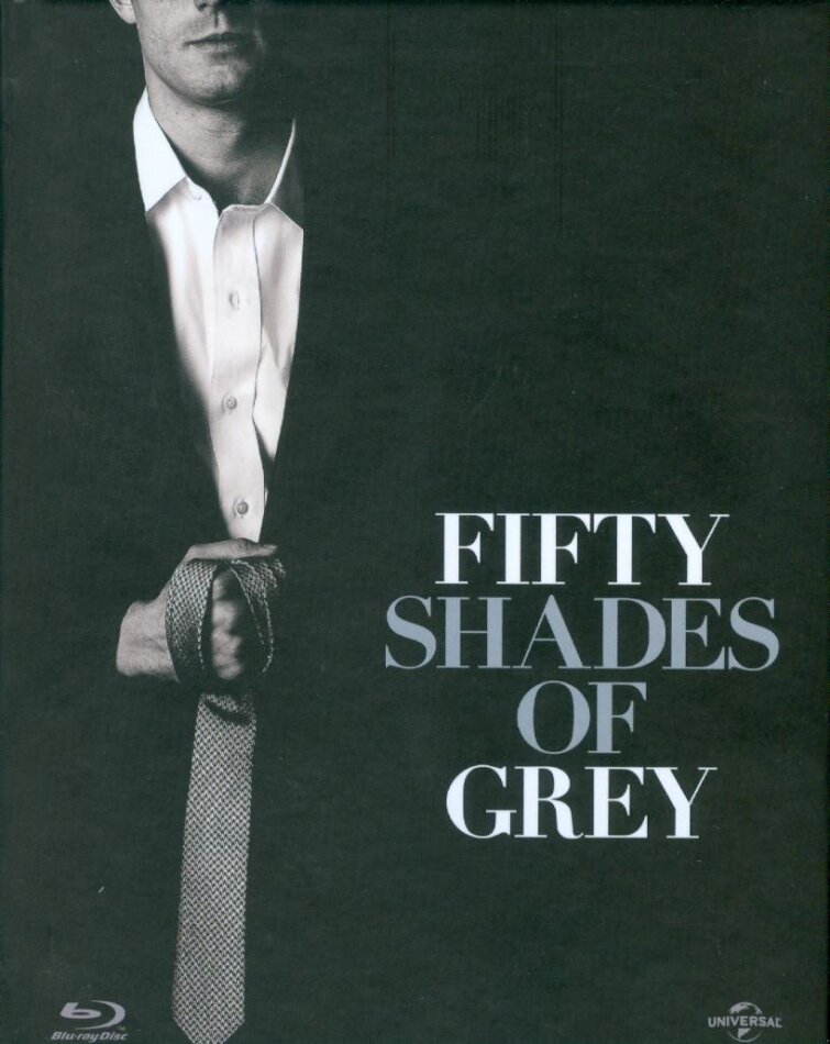 Fifty Shades of Grey (2015) (Limited Special Edition, Mediabook, Blu-ray + DVD)