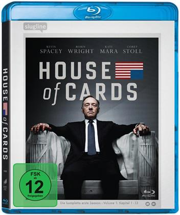 House of Cards - Staffel 1 (Neuauflage, 4 Blu-rays)