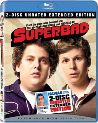 Superbad (2007) (Extended Edition, Unrated, 2 Blu-rays)