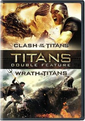 Clash of the Titans (2010) / Wrath of the Titans (2012) (2 DVDs)