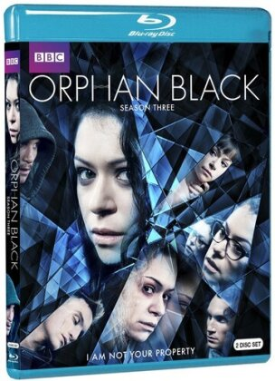 Orphan Black - Season 3 (BBC, 2 Blu-ray)