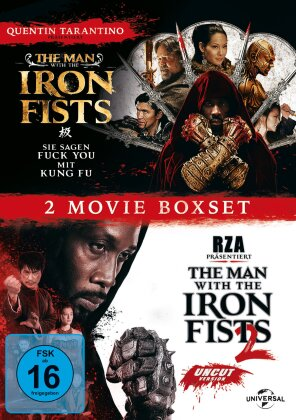 The Man with the Iron Fists 1 & 2 - 2 Movie Boxset (2 DVDs)