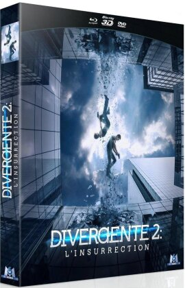 Divergente 2 - L'insurrection (2014) (Collector's Edition, Blu-ray 3D + Blu-ray + DVD)