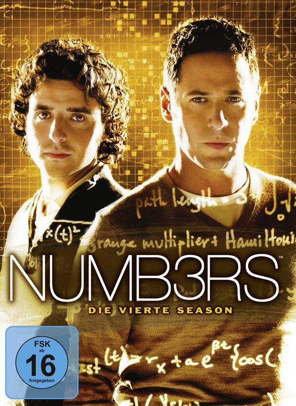 Numbers - Staffel 4 (5 DVDs)