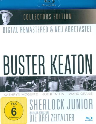 Buster Keaton - Sherlock Junior (n/b, Collector's Edition)