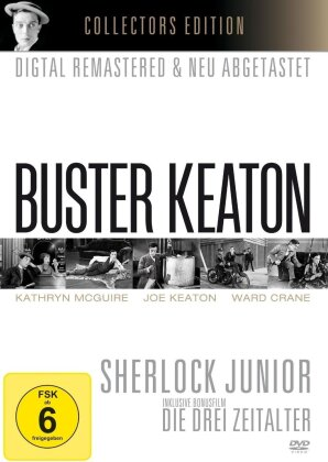 Buster Keaton - Sherlock Junior / Die Drei Zeitalter (s/w, Collector's Edition, Remastered)