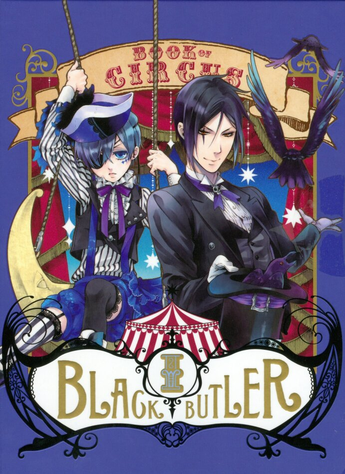 Black Butler: Book of Circus - Saison 3 - Box 1/2 (Digibook, Limited Edition, Blu-ray + DVD)