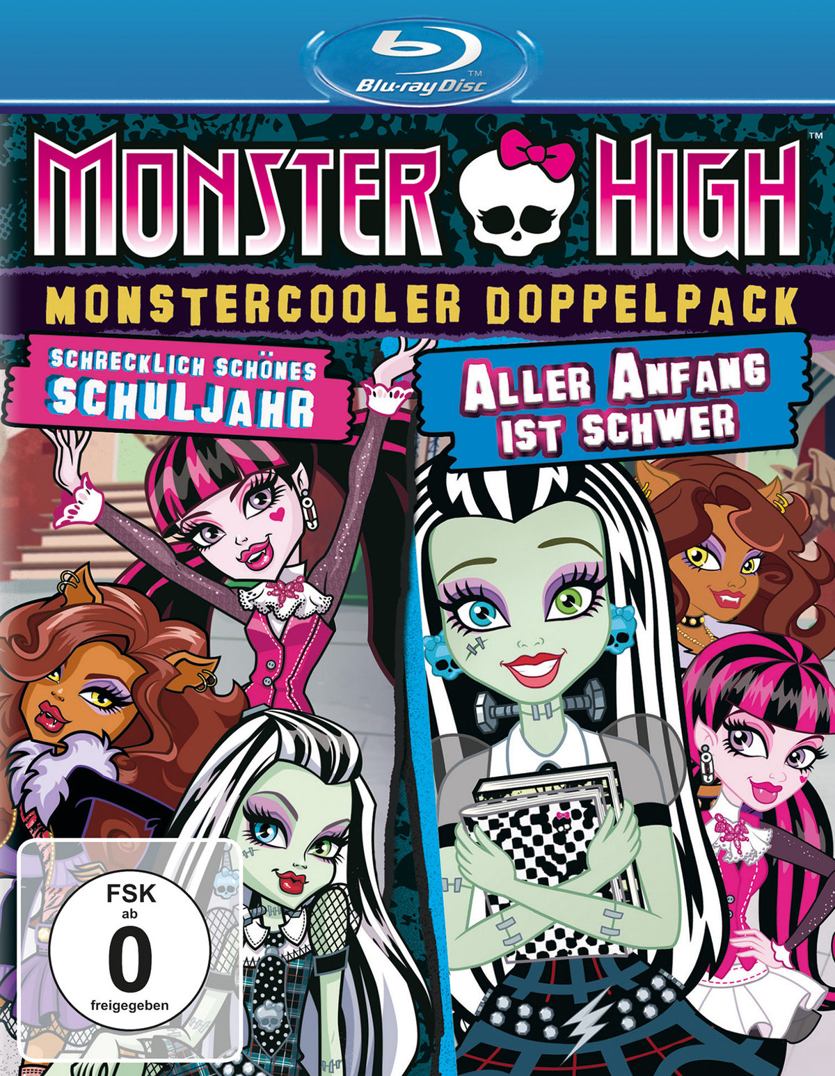 Monster High - Monstercooler Doppelpack - Schrecklich schönes Schuljahr / Aller Anfang ist schwer