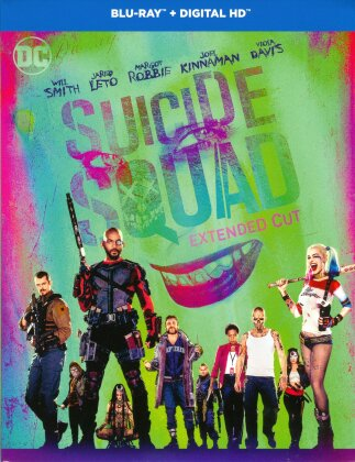 Suicide Squad (2016) (Langfassung, Kinoversion, 2 Blu-rays)