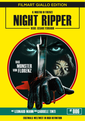 Night Ripper - Das Monster von Florenz (1986) (Filmart Giallo Edition, Blu-ray + DVD)
