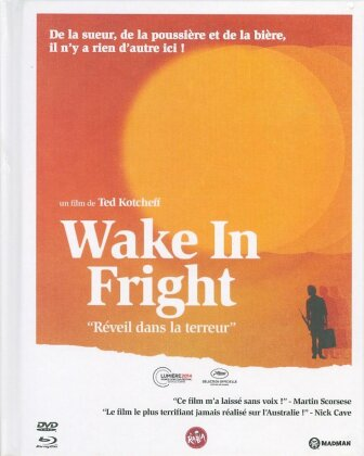 Wake in Fright (1971) (Mediabook, Blu-ray + DVD + Buch)