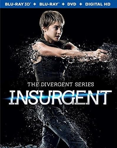 Insurgent - The Divergent Series (2014) (Blu-ray 3D (+2D) + Blu-ray + DVD)