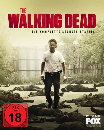 The Walking Dead - Staffel 6 (Uncut, 6 Blu-rays)