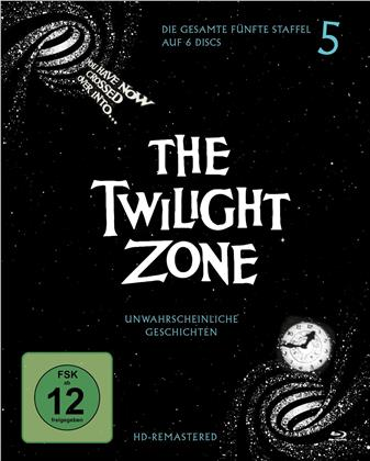 The Twilight Zone - Staffel 5 (s/w, Remastered, 6 Blu-rays)