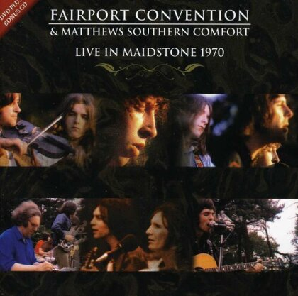 Fairport Convention - Live in Maidstone 1970 (DVD + CD)