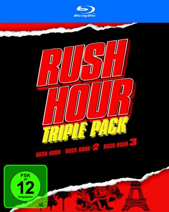 Rush Hour - Triple Pack (3 Blu-ray)