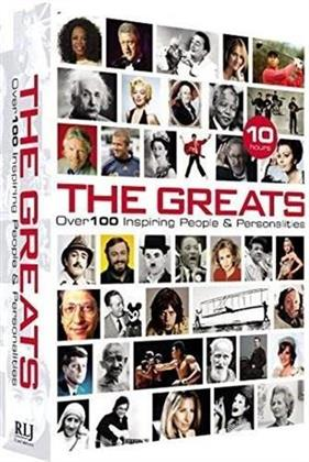 The Greats - Over 100 Inspiring People & Personalities (Collector's Edition, 2 DVDs)
