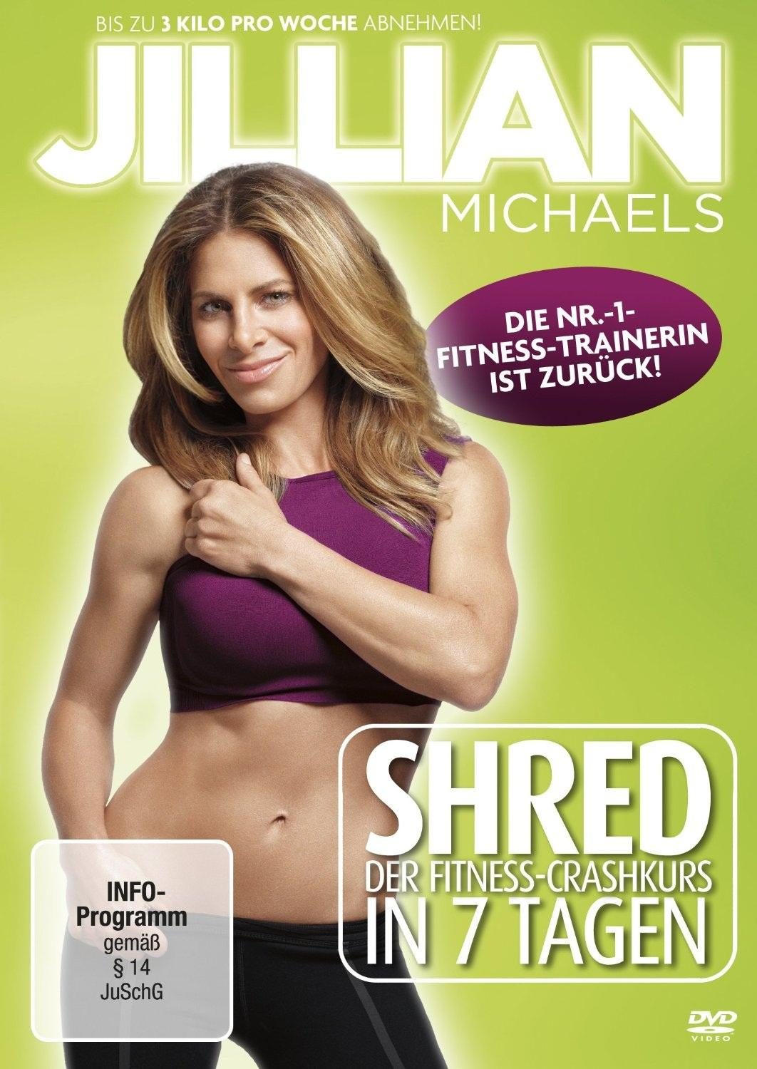 Bild Jillian Michaels - Shred - Der Fitness-Crashkurs in 7 Tagen