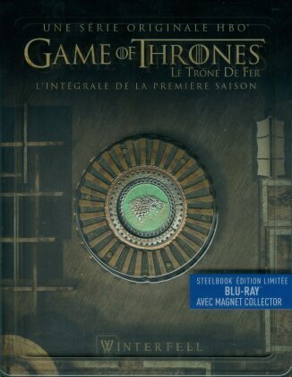 Game of Thrones - Saison 1 (avec Magnet Collector, Steelbook, Limited Edition, 5 Blu-rays)