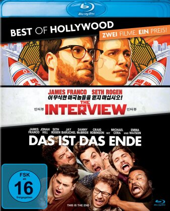 The Interview / Das ist das Ende (Best of Hollywood, 2 Blu-rays)