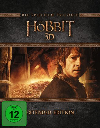 Der Hobbit - Trilogie (Extended Edition, 6 Blu-ray 3D + 9 Blu-rays)