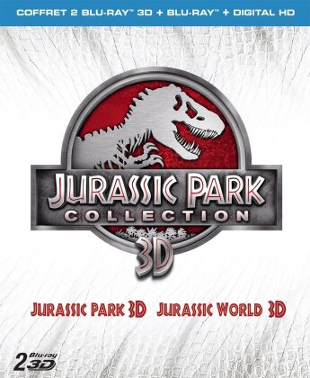 Jurassic Park Collection - Jurassic Park / Jurassic World (2 Blu-ray 3D + 2 Blu-ray)