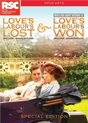 Love's Labour's Lost / Love's Labour's Won (Opus Arte, Special Edition, 2 DVDs) - Royal Shakespeare Company