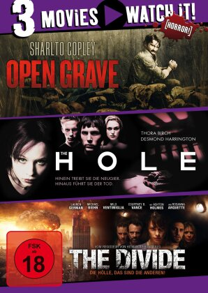 Open Grave / The Hole / The Divide (3 DVDs)