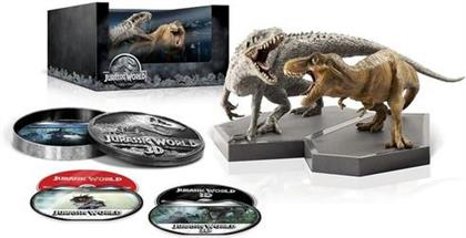 Jurassic World - Jurassic Park 4 (2015) (Gift Set, Limited Edition, Blu-ray 3D (+2D) + Blu-ray + DVD)