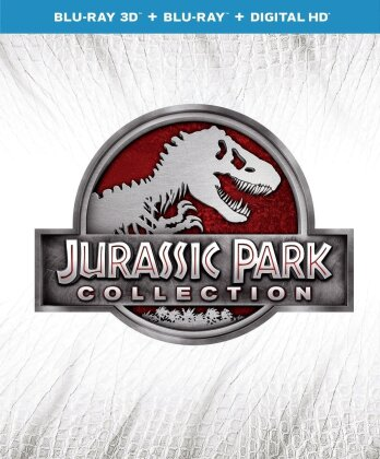 Jurassic Park Collection (4 Blu-ray 3D (+2D))