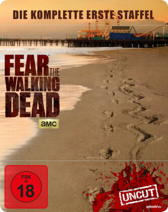 Fear The Walking Dead - Staffel 1 (Limited Edition, Steelbook, Uncut, 2 Blu-rays)