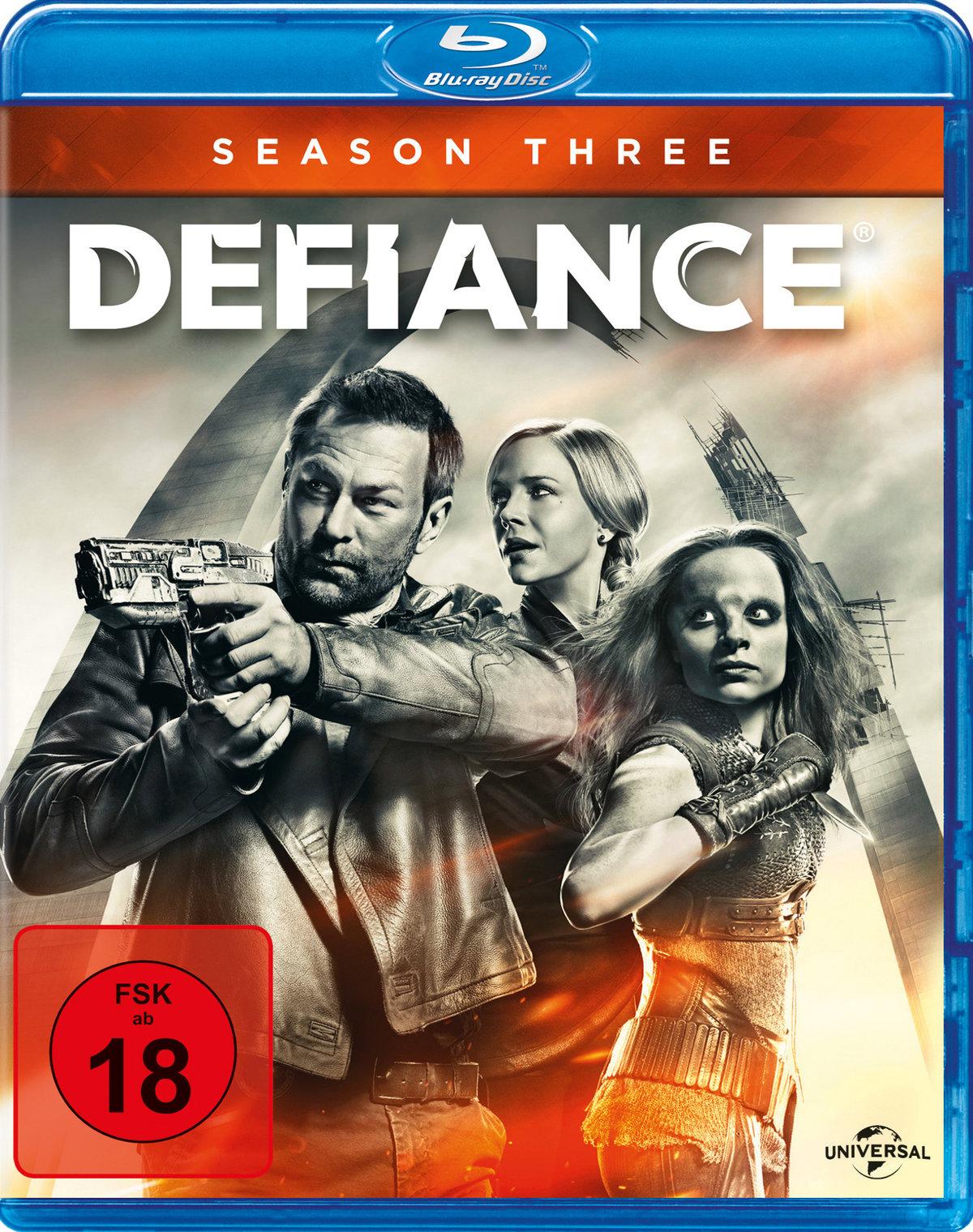 Defiance - Staffel 3 (3 Blu-rays)