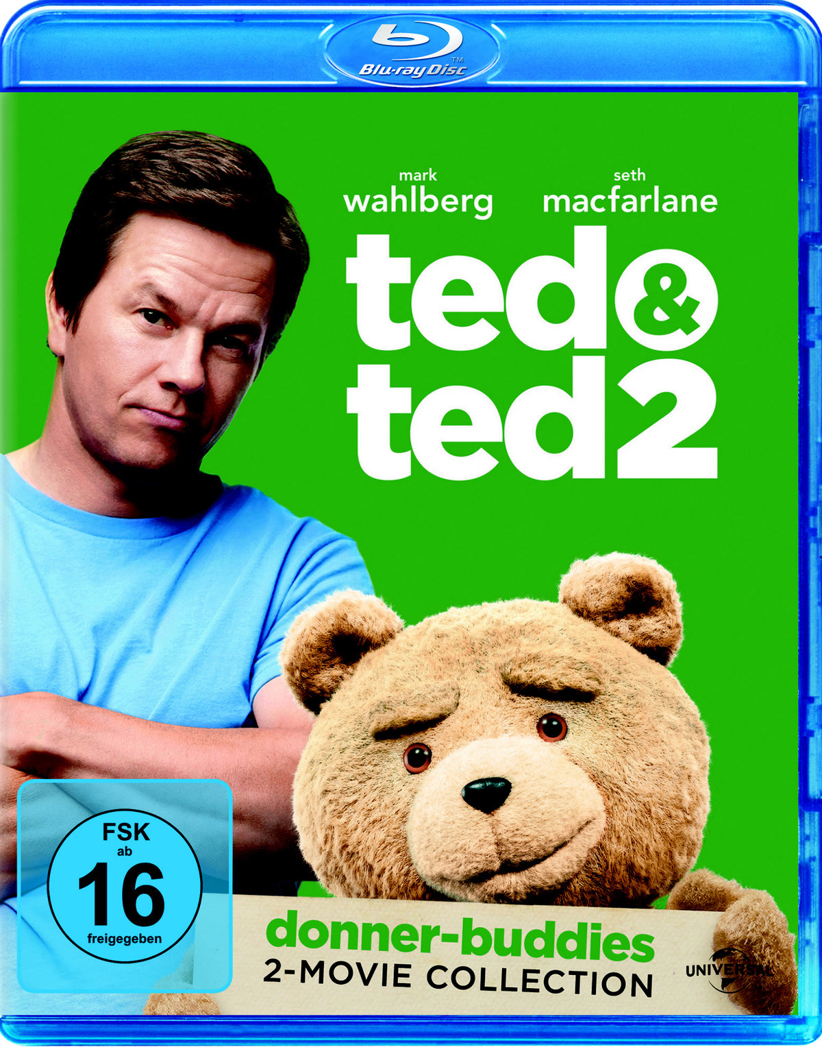 Ted & Ted 2 - (Donner-Buddies 2-Movie Collection, 2 Blu-rays)