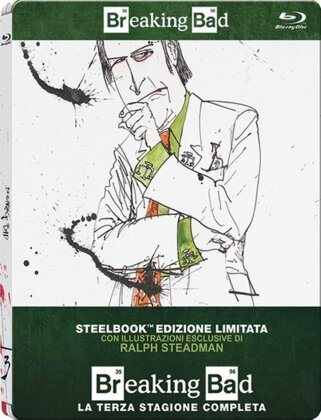 Breaking Bad - Stagione 3 (Limited Edition, Steelbook, 3 Blu-rays)
