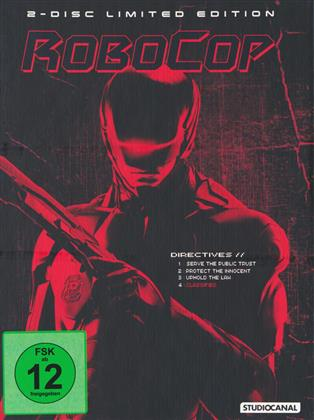 Robocop (2014) (Limited Edition, Mediabook, Blu-ray + DVD)