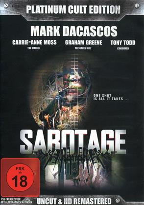 Sabotage (1996) (Platinum Cult Edition, Remastered, Uncut, 2 DVDs)
