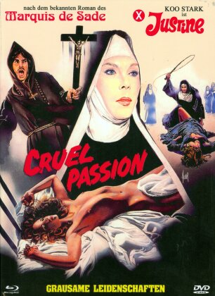 Cruel Passion - Grausame Leidenschaften (1977) (Cover A, Limited Edition, Mediabook, Blu-ray + DVD)